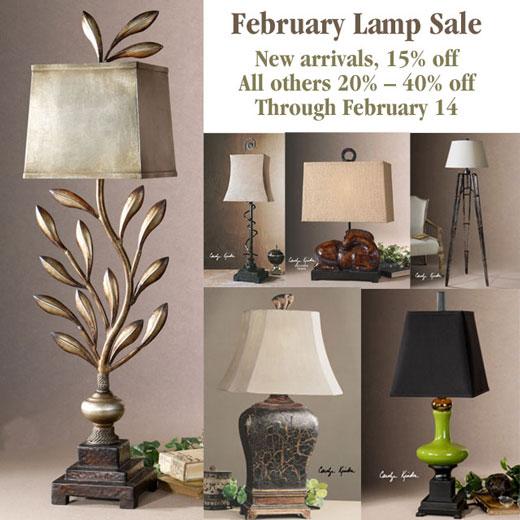February Lamp Sale