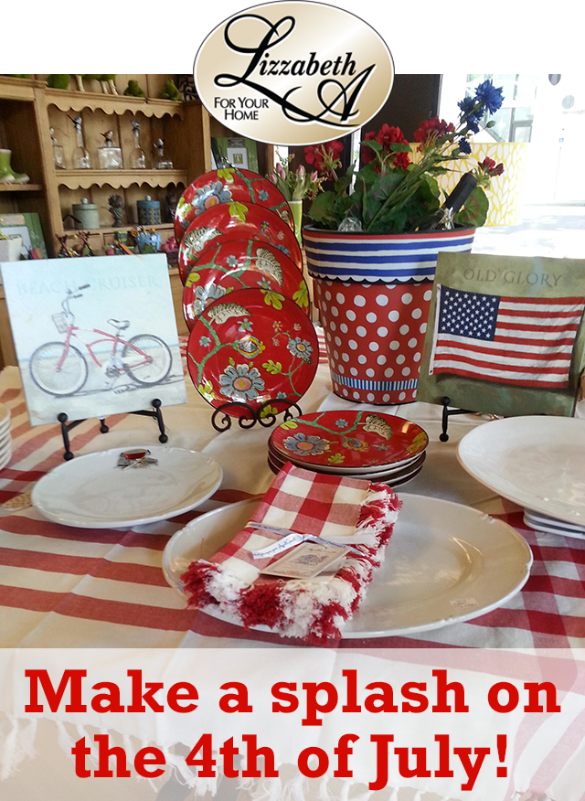 Fourth of July, new arrivals and First Friday!