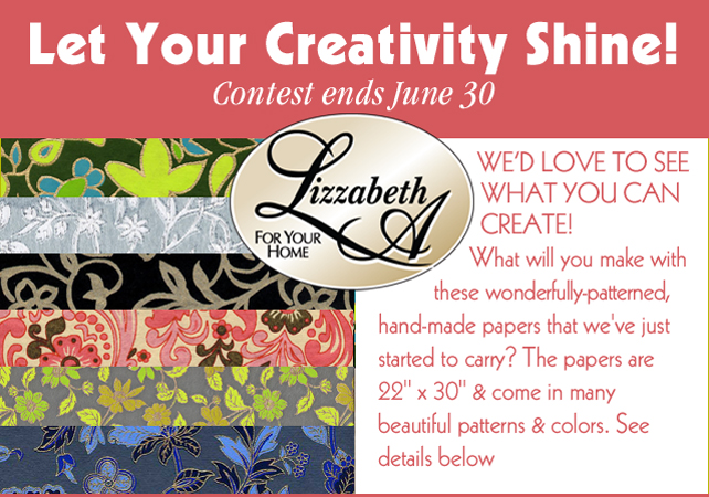 Let Your Creativity Shine contest ends Sunday!
